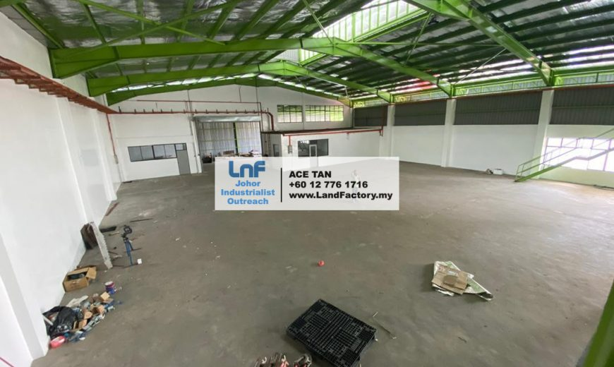Tampoi – Detached Factory – RENT